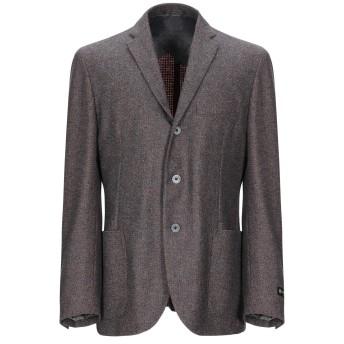 《期間限定セール開催中!》CORNELIANI メンズ テーラードジャケット 鉛色 50 バージンウール 80% / ナイロン 10% / カシミヤ 10%