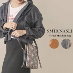 クーポン対象 SMIR NASLI サミールナスリ 通販 W Face Shoulder 0115-13553/2019秋冬 BAG ショルダーバッグ