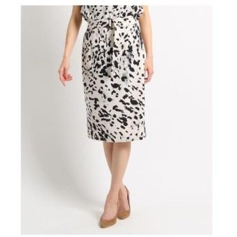COUP DE CHANCE(クードシャンス)【洗える】レオニーストレッチタイトスカート