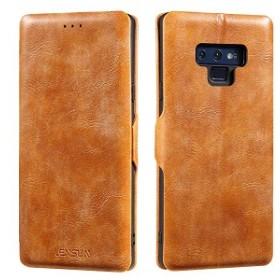 6da6c7f6fa Galaxy Note9 ケース 手帳型 本革 薄型 ギャラクシーNote9ケース SC-01L SCV40 マグネット