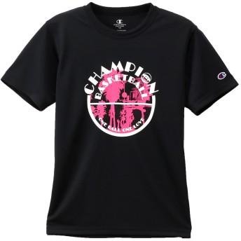 キッズ プラクティスTシャツ 19FW【秋冬新作】E-MOTION チャンピオン(CK-QB315)【5400円以上購入で送料無料】