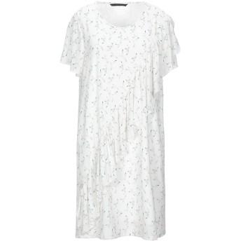 《セール開催中》SILVIAN HEACH レディース ミニワンピース&ドレス ホワイト XXS ポリエステル 94% / ポリウレタン 6%