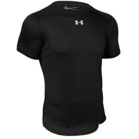 アンダーアーマー(UNDER ARMOUR) メンズ バスケ 半袖 Tシャツ ロングショットTシャツ UA LONGSHOT TEE 001:BLK/WHT 1316918 バスケットボール ウェア