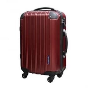 スーツケース機内持込みサイズ(スクラッチレッド)