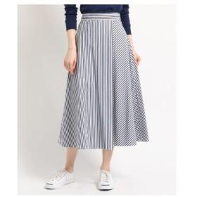 Dessin(Ladies)(デッサン(レディース))◆【洗える】【後ろウエストゴム】タイプライターストライプ スカート