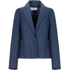 《期間限定セール開催中!》VALENTINO ROMA レディース テーラードジャケット ブルー 50 コットン 65% / 麻 35%