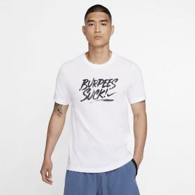 ナイキ DRI-FIT HUMOR Tシャツ NIKE (ナイキ) BV7972-100 WHT
