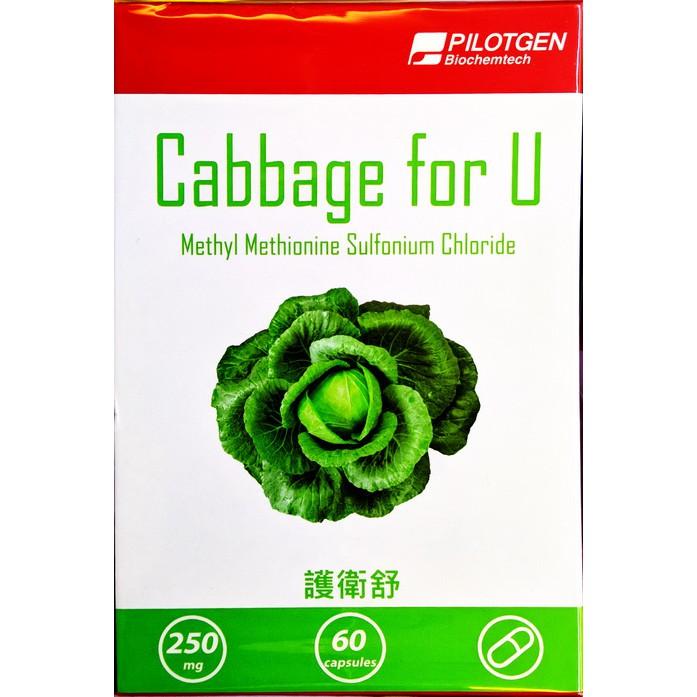 護衛舒膠囊 (60粒/盒) 高麗菜濃縮萃取