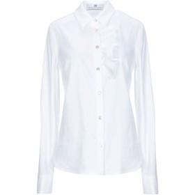《期間限定 セール開催中》MR MASSIMO REBECCHI レディース シャツ ホワイト 40 コットン 79% / ナイロン 18% / ポリウレタン 3%