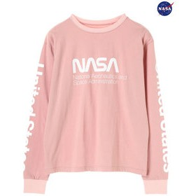 【E hyphen world gallery:トップス】NASA L/S Tee