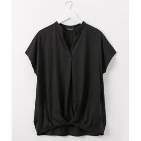 接触冷感。UVカット加工 タックスキッパープルオーバー (Tシャツ・カットソー)(レディース)T-shirts, T恤