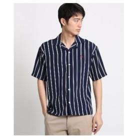 BASE CONTROL(Men)(ベースコントロール(メンズ))KANGOL カンゴール オープンカラーシャツ 開襟シャツ