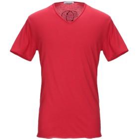 《期間限定 セール開催中》DANIELE ALESSANDRINI メンズ T シャツ レッド M コットン 100%