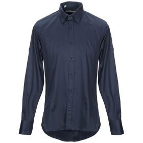 《期間限定 セール開催中》HAVANA & CO. メンズ シャツ ダークブルー 41 コットン 97% / ポリウレタン 3%