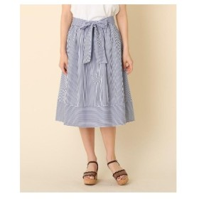 Couture Brooch(クチュールブローチ)【洗える】ランダムストライプスカート