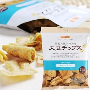 大豆チップス あおさビネガー(35g)【ビオクラ食養本社】