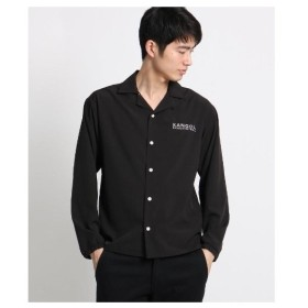 BASE CONTROL(Men)(ベースコントロール(メンズ))◆KANGOL カンゴール 別注 長袖シャツ 開襟シャツ