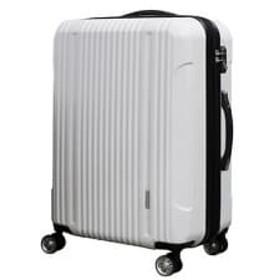 容量拡張機能付スーツケース中型サイズ(ホワイト)