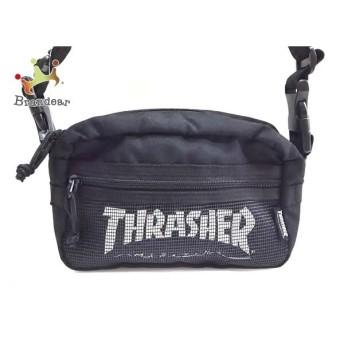 スラッシャー THRASHER ショルダーバッグ 美品 黒 2way ナイロン 新着 20190704