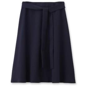 Reflect(リフレクト)【洗える】リボン付フレアースカート