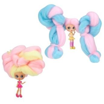 キャンディヘアーズ ツインズドール4 ケリーベリー&ボゥナナ おもちゃ こども 子供 女の子 人形遊び 6歳