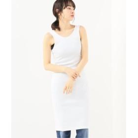 journal standard luxe 【unfil/ アンフィル】suvin cotton tank dress ホワイト 1