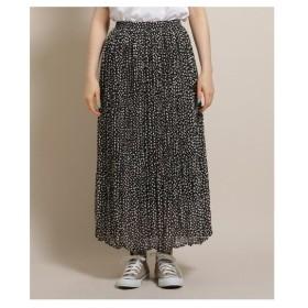 Bon mercerie(ボン メルスリー)ダルメシアンドットプリントスカート