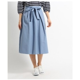 Dessin(Ladies)(デッサン(レディース))【洗える】ツイルフレアスカート