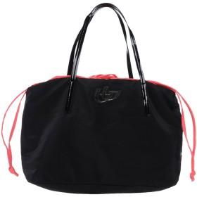《セール開催中》BLU BYBLOS レディース ハンドバッグ ブラック 紡績繊維
