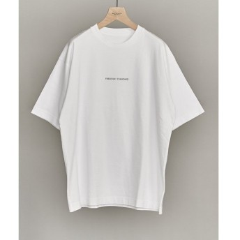 BEAUTY&YOUTH UNITED ARROWS / ビューティ&ユース ユナイテッドアローズ 【WEB限定】 by FREEDOM STANDARD ワイド Tシャツ -MADE IN JAPAN-