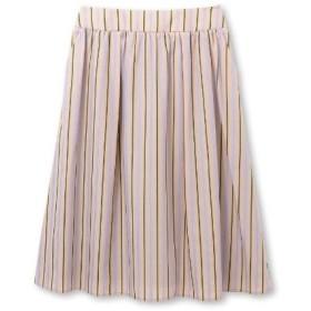 Reflect(リフレクト)【洗える】ストライプミディ丈スカート