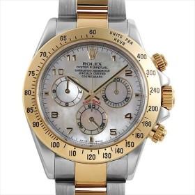 48回払いまで無金利 ロレックス デイトナ 116523NA ホワイトシェル/アラビア D番 中古 メンズ 腕時計