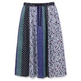 UNTITLED/FAIRY SHADE(アンタイトル/フェアリーシェード)ペイズリーパネルプリントスカート