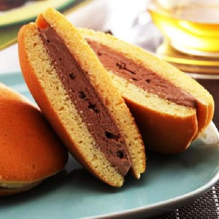【上野物產】冰淇淋銅鑼燒任選50入組(鮮奶紅豆 抹茶紅豆 威士忌 巧克力 草