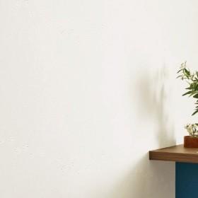 壁紙 のりなし クロス 国産壁紙 石・塗り・タイル ストーン 犬 猫 足跡 足あと 白 ホワイト 防かびサンゲツ RE-7468
