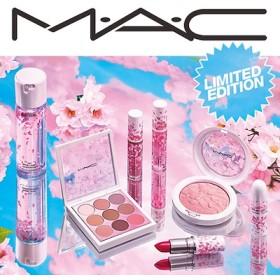 【数量限定‼赤字特価】MAC2019年スプリングコレクションMAC Boom Boom Bloom マットリップスティック・チェリーブロッサムの花びらがデザインされた限定パッケージ