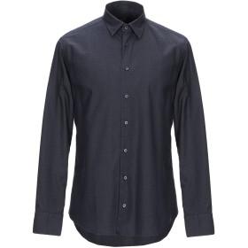 《期間限定 セール開催中》MARIANO Napoli メンズ シャツ ダークブルー 40 コットン 100%