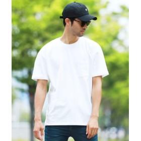 (JIGGYS SHOP/ジギーズショップ)ルーズシルエットTシャツ/Tシャツ メンズ ティーシャツ 半袖 クルーネック/メンズ ホワイト
