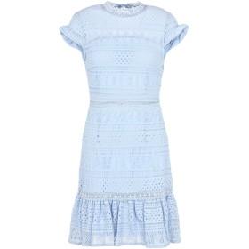 《期間限定セール開催中!》FOXIEDOX レディース ミニワンピース&ドレス スカイブルー M ナイロン 92% / ポリウレタン 8% ELLIE FIT & FLARE DRESS