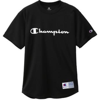 ウィメンズ DRYSAVER Tシャツ 19FW【秋冬新作】CAGERS チャンピオン(CW-QB355)【5400円以上購入で送料無料】