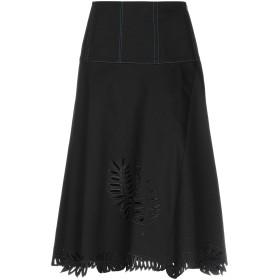 《期間限定 セール開催中》FENDI レディース 7分丈スカート ブラック 42 コットン 98% / ポリウレタン 2%