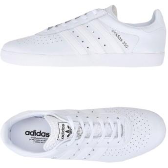 《期間限定 セール開催中》ADIDAS ORIGINALS メンズ スニーカー&テニスシューズ(ローカット) ホワイト 11 革 / ゴム ADIDAS 350