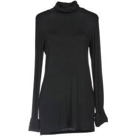 《期間限定セール開催中!》MANILA GRACE レディース T シャツ ブラック 2 レーヨン 94% / ポリウレタン 6%