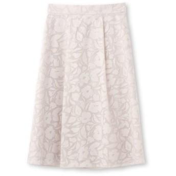 Reflect(リフレクト)【洗える】フラワーオパール加工スカート