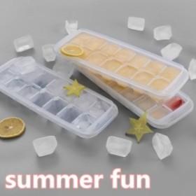 \限定大特価/夏 DIY クリエイティブカバー 14グリッドアイス正方形モールド 自家製 コーラ お酒 ウイスキー アイスキューブ