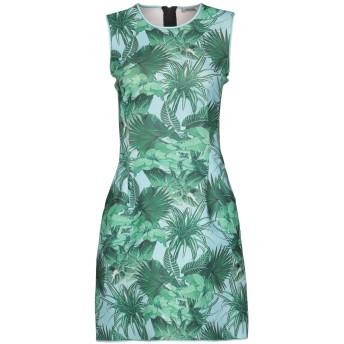 《セール開催中》EMMA COOK レディース ミニワンピース&ドレス グリーン 10 ポリエステル 100%