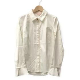 美品 テッドベーカー スカラップ長袖シャツ レディース SIZE 0 (XS以下) TED BAKER 中古