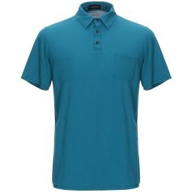 《期間限定 セール開催中》ROBERTO COLLINA メンズ ポロシャツ ディープジェード 46 コットン 100%
