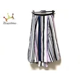 マイストラーダ Mystrada スカート サイズ34 S レディース 白×黒×ピンク   スペシャル特価 20191002