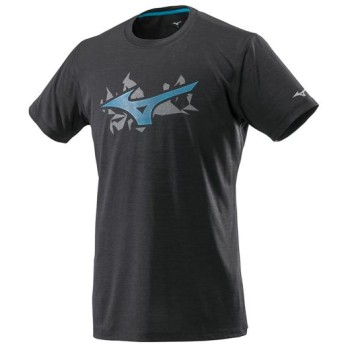 MIZUNO SHOP [ミズノ公式オンラインショップ] ランニングTシャツ[メンズ] 09 ブラック J2MA8505